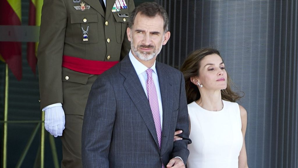 Spain's King Felipe and Queen Leitizia begin UK state visit