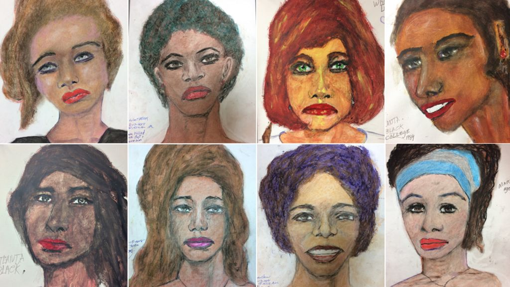 FBI releases serial killer Samuel Little's drawings of victims - BBC
