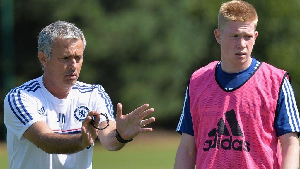 Kevin de Bruyne: I only spoke to Jose Mourinho twice at Chelsea ...