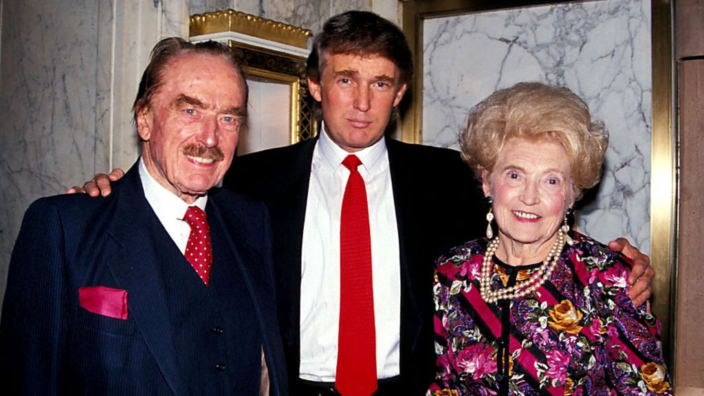 Trumps Parents And Siblings What Do We Know Of Them Bbc News