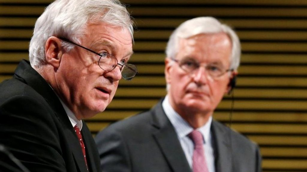 Davis to sum up state of Brexit talks