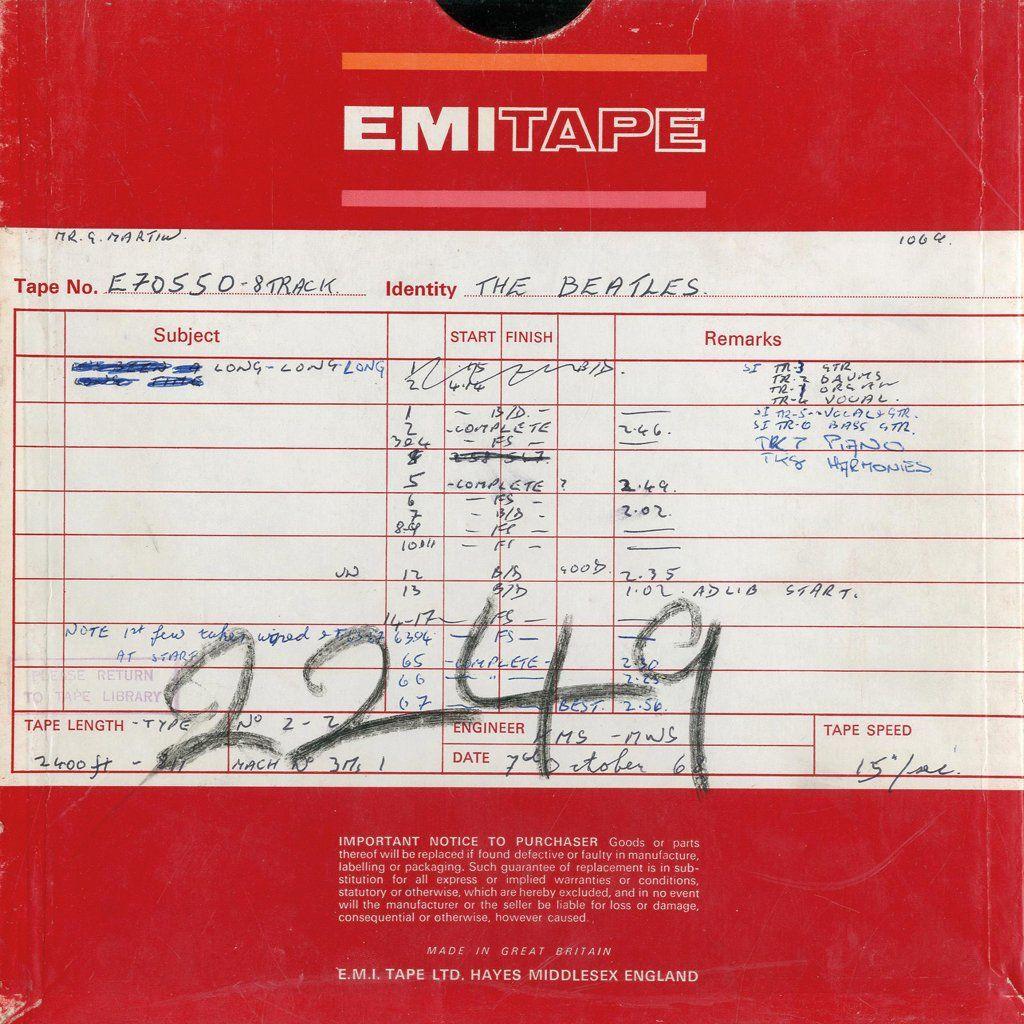 The original tapes of The White Album