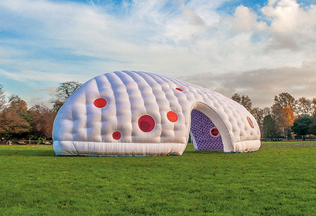 'Inflatable Space' by Penttinen Schone - UK