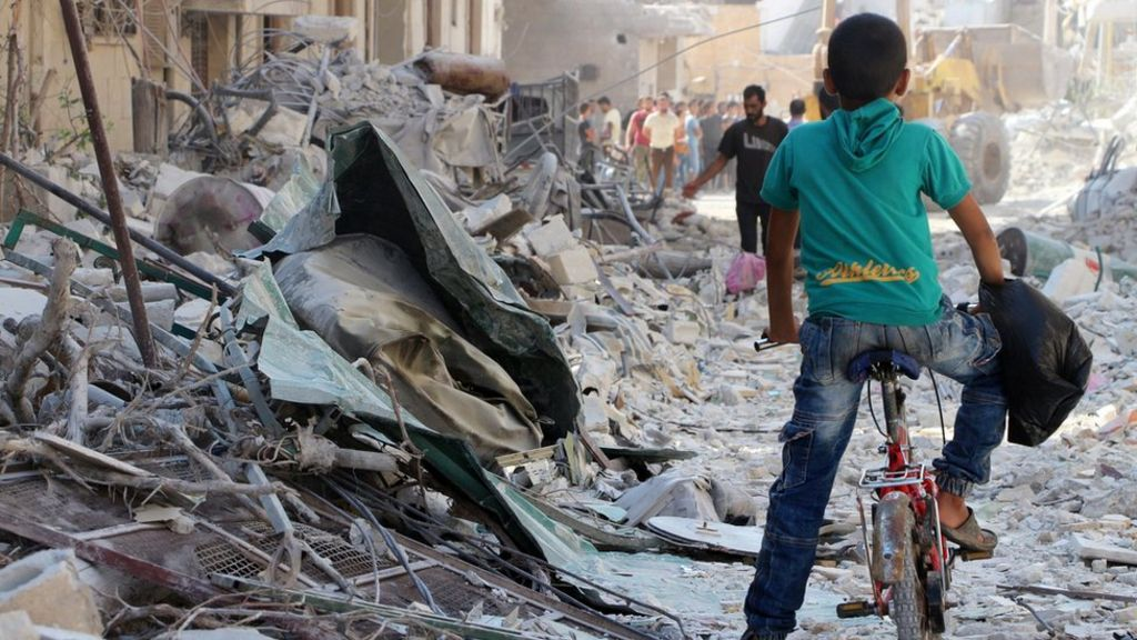 Syria war: Fighting worst since battle for Aleppo - ICRC
