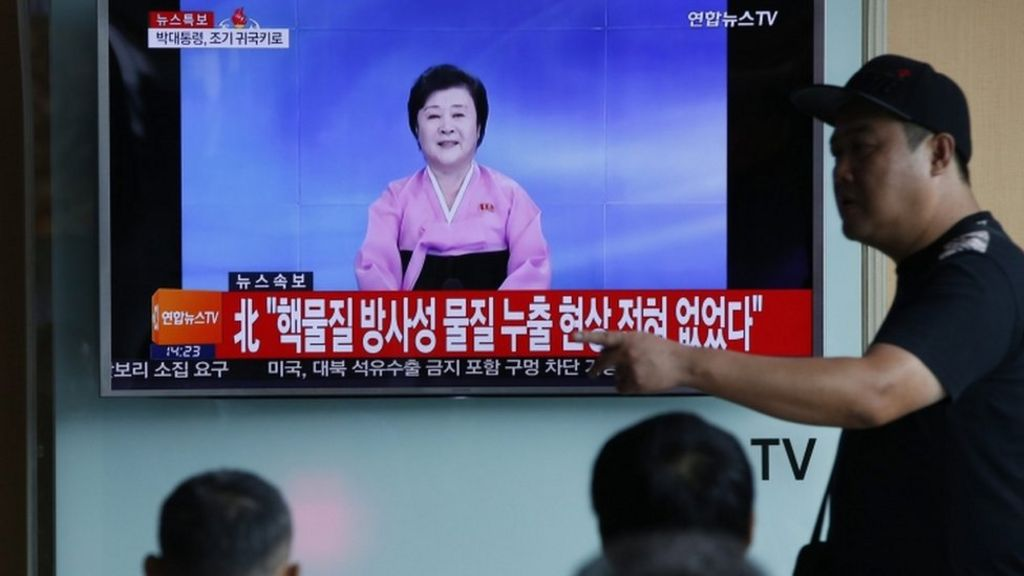 North Korea claims success in fifth nuclear test - BBC News