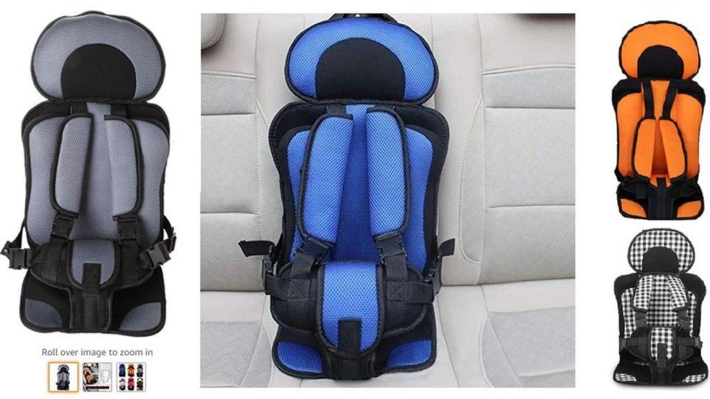 Amazon: Suspect child car seats found