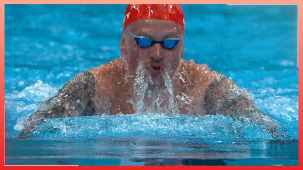 Tokyo Olympics: Adam Peaty reaches 100m breaststroke semi-final for GB