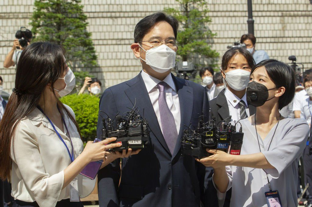 Samsung heir Lee Jae-yon.