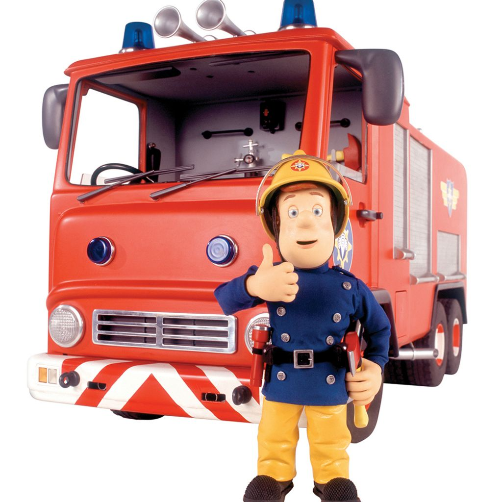 It is a picture of Current Fireman Sam Pic