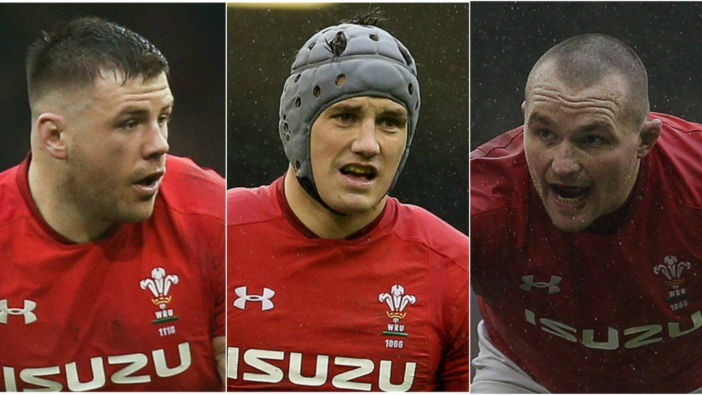 promo code 06450 d21d6 Scarlets: Jonathan Davies, Ken Owens and Rob Evans agree new ...