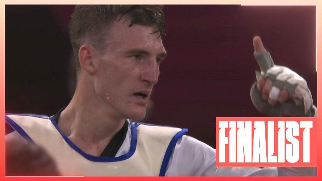 Sinden through to taekwondo final to guarantee GB medal