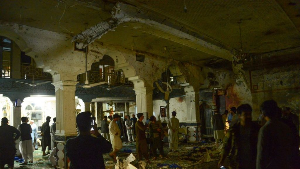 Herat mosque blast kills dozens in Afghanistan