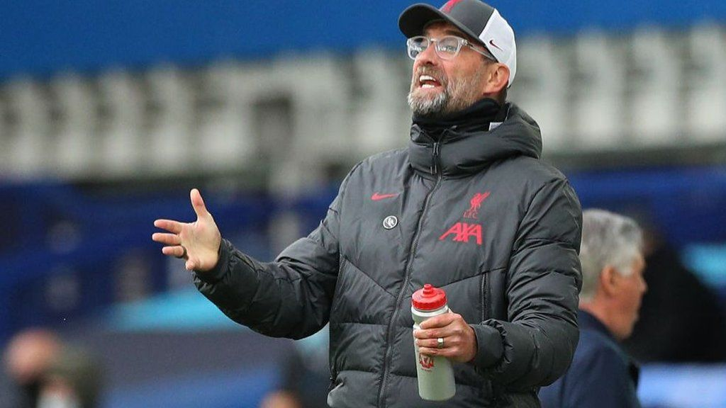 Liverpool Ask Premier League To Review Key Var Decisions In Everton Draw Bbc Sport