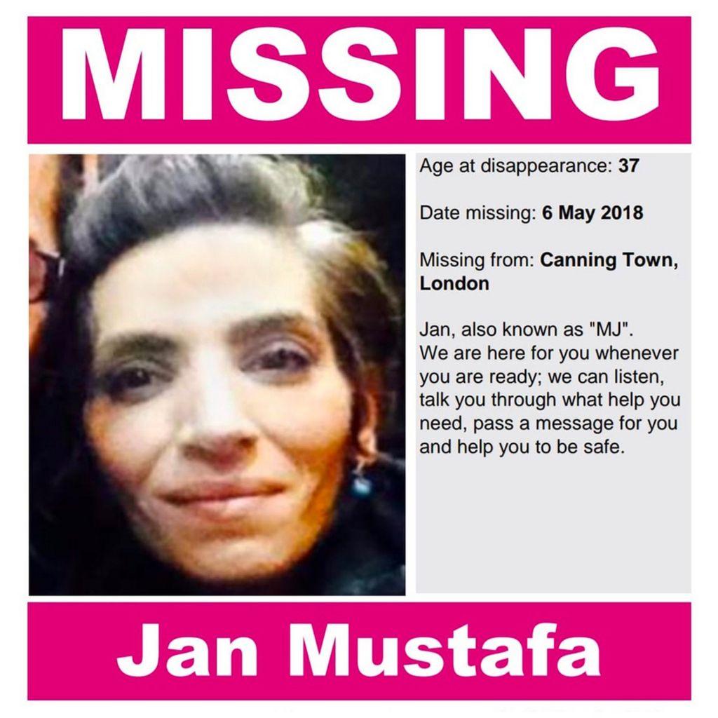 "Mustafa family ""Missing"" poster"