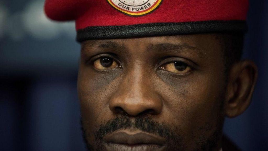 bbc.co.uk - Bobi Wine back in Uganda 'to fight