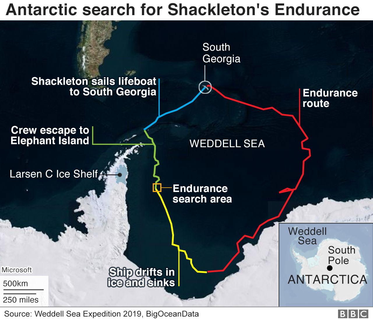 Shackleton map
