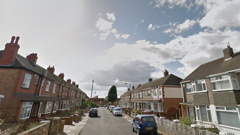Grimsby Living Room House Fire Leaves One Dead Bbc News