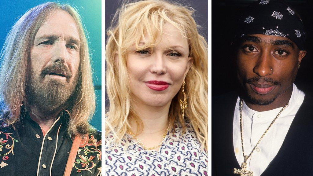 Tom Petty, Courtney Love and Tupac