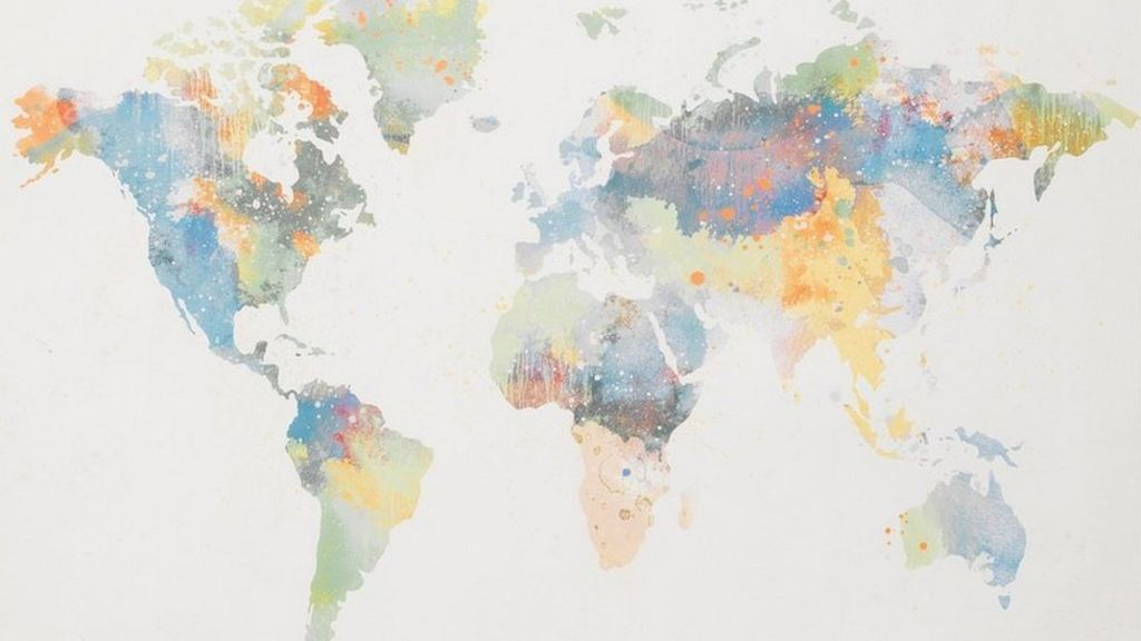 New Zealand Map In World Map.Ikea Apologises After Leaving New Zealand Off A Map Bbc News