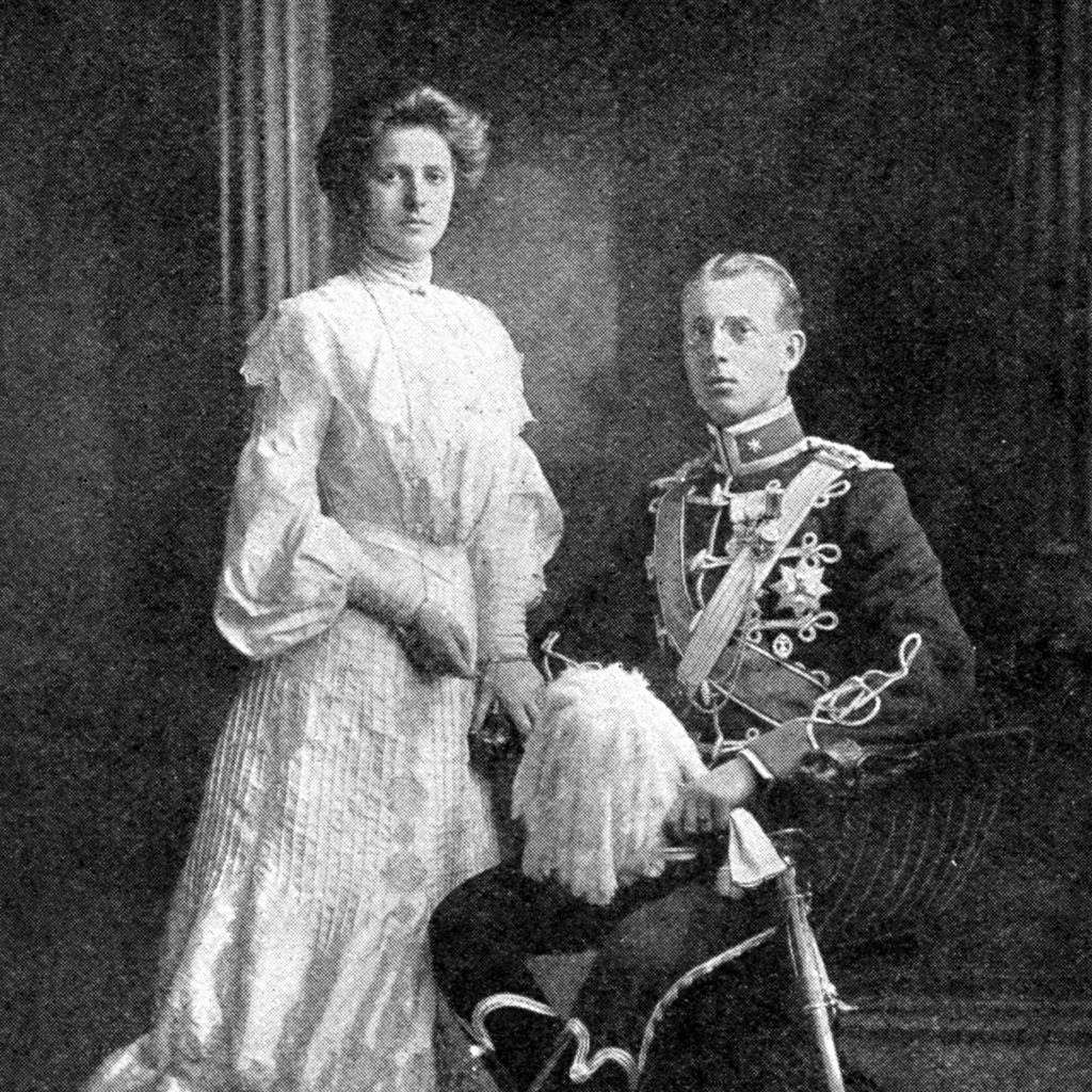 The wedding of Prince Philip's parents - Prince Andrew of Greece and Princess Alice of Battenberg, 1903