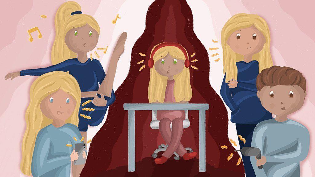 Coronavirus pandemic illustration Chloe Collett