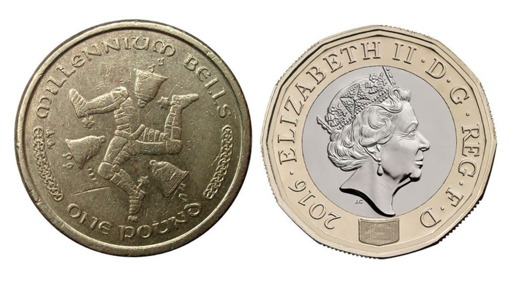 Manx Round Pound Coins To Remain Legal Tender Bbc News