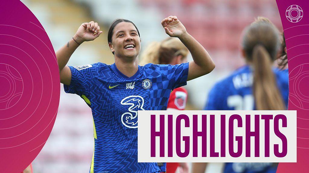 Man Utd 1-6 Chelsea: Sam Kerr scores twice in dominant win