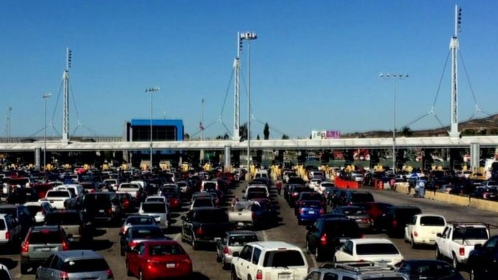 Busiest Border Crossing In The World