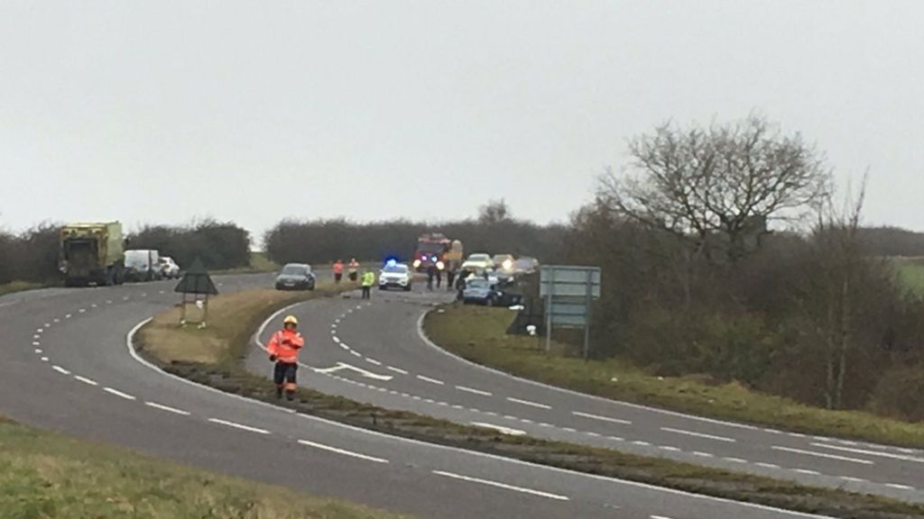 Bartlow fatal crash: Woman charged with dangerous driving - BBC News