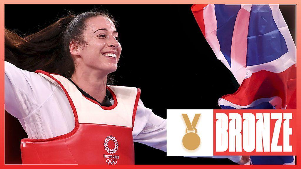 Tokyo Olympics: Bianca Walkden earns bronze for GB after semi-final defeat