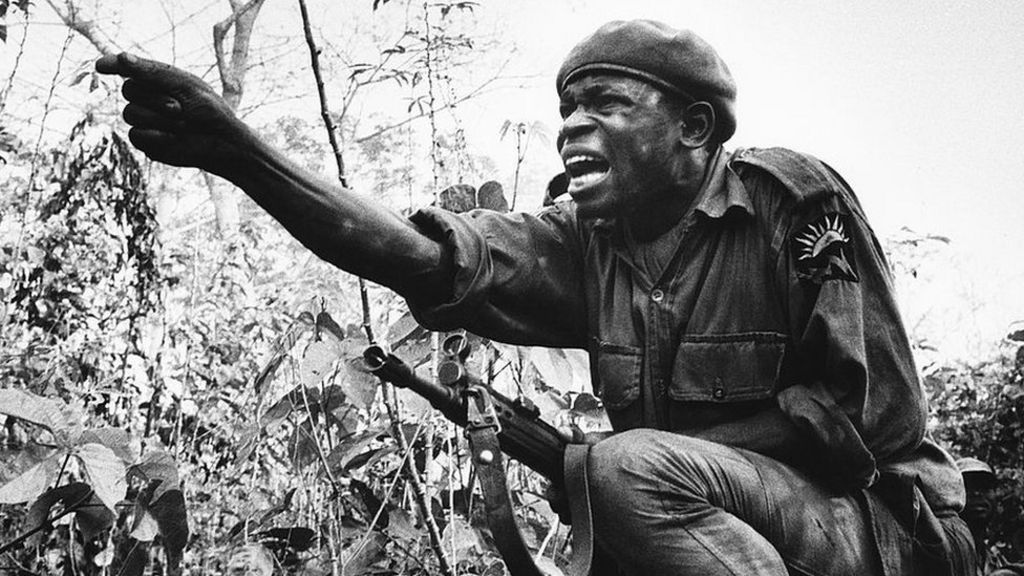 Remembering Nigeria's Biafra war that many prefer to forget - BBC News