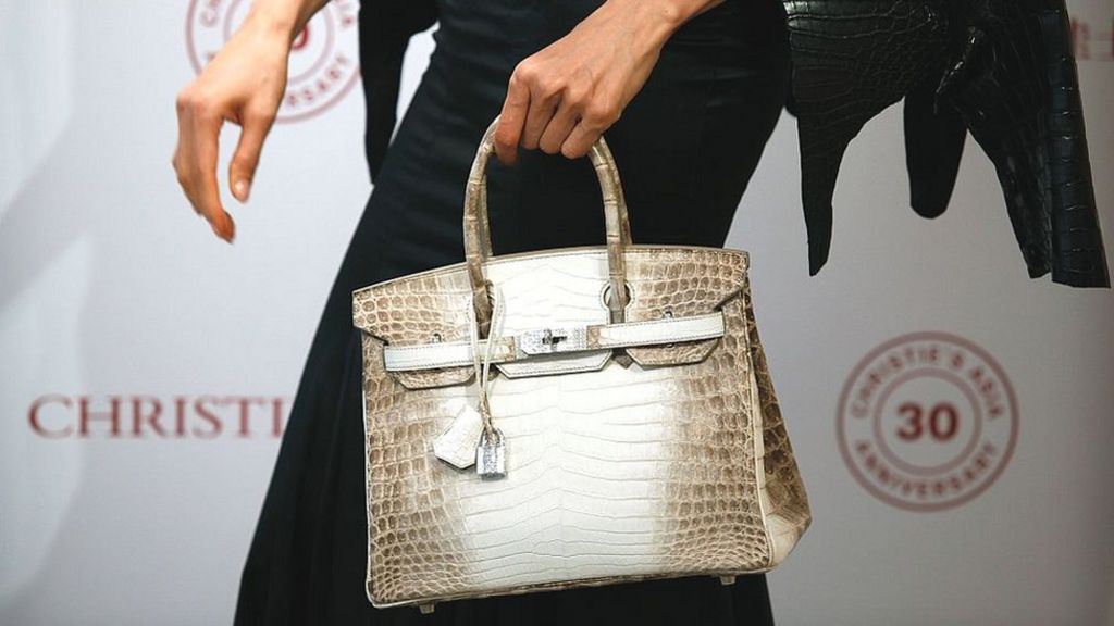 The handbag that costs as much as a house - BBC News be5ce571f7172