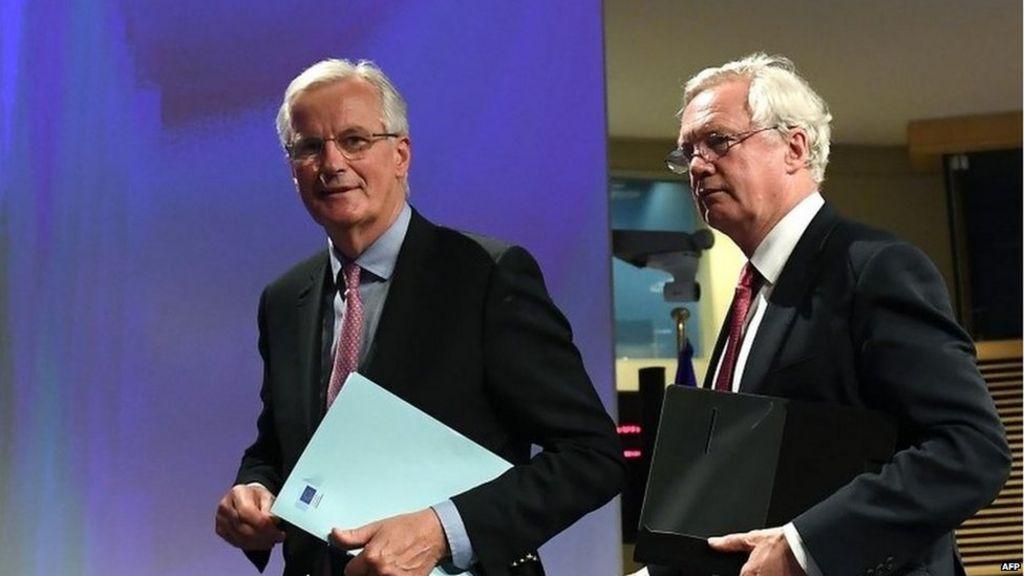 Brexit: British and EU negotiators to outline progress