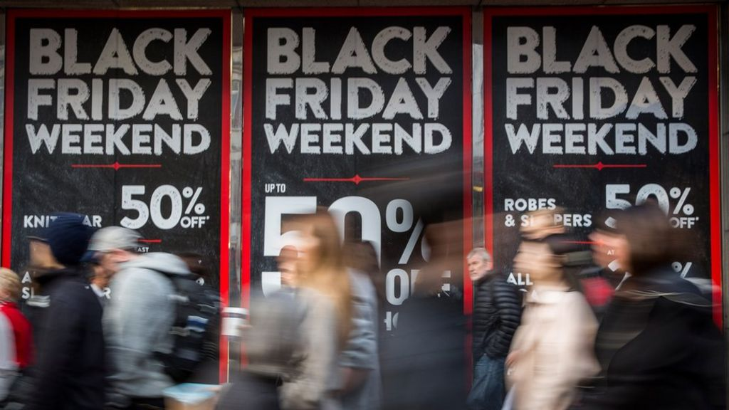 Shoppers will splash out more than £bn on Black Friday deals, as the UK continues its affair with the US-inspired discount day.. Sales will continue over the weekend with £bn expected to.