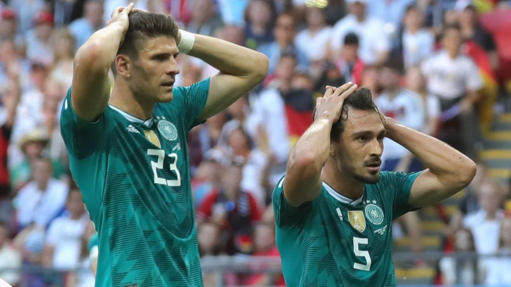 3aa32073 World Cup 2018: Why were Germany knocked out and where do they go from  here? - BBC Sport