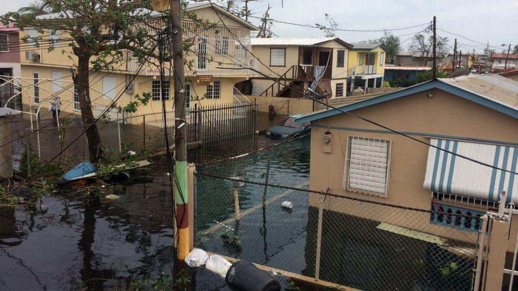Hurricane Maria nears Turks and Caicos