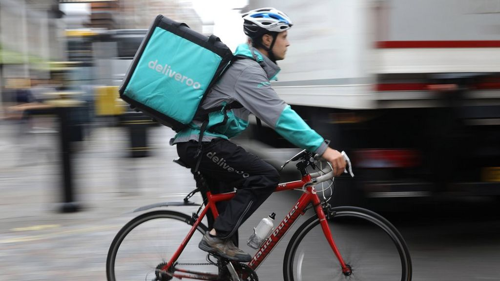 bbc.co.uk - Amazon invests in Deliveroo