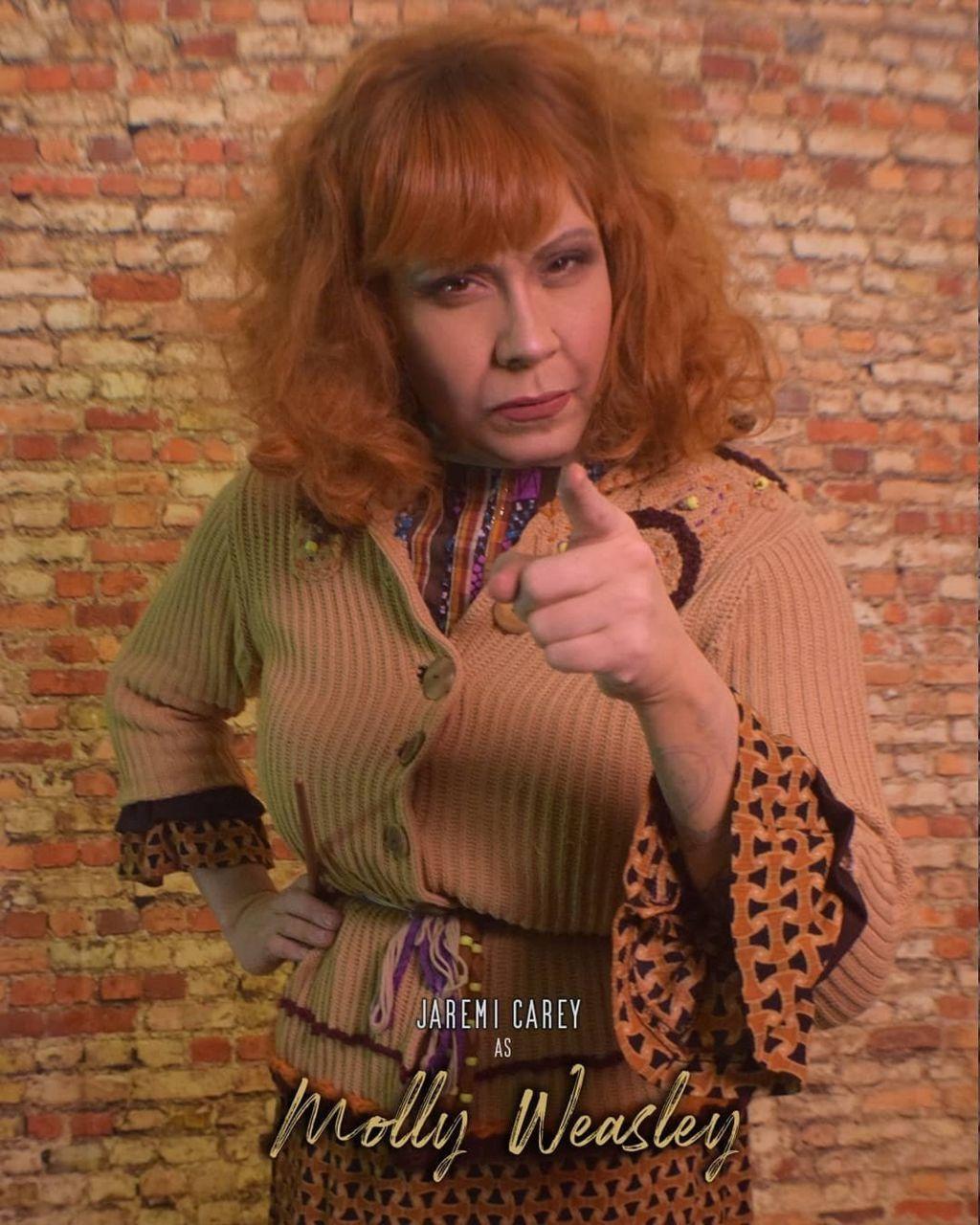 Jaremi Carey as Mrs Weasley