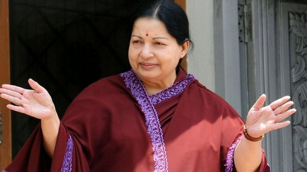 Jayalalitha hints at recovery in 'rebirth' letter - BBC News