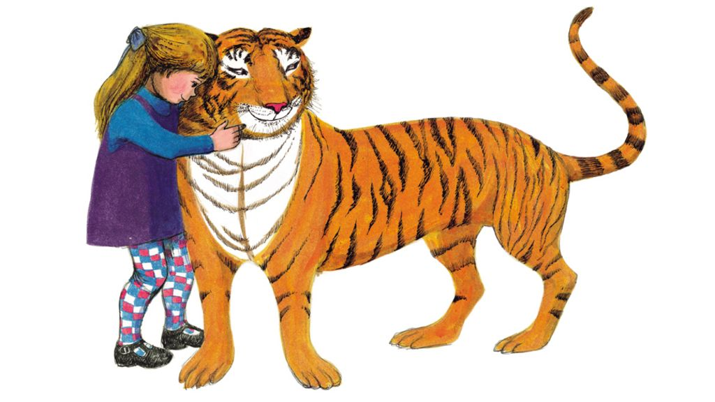 Image result for tiger who came to tea