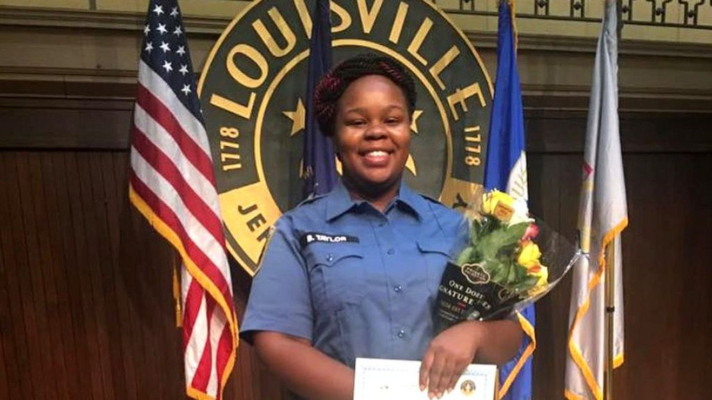 Breonna Taylor Louisville Officer To Be Fired For Deadly Force Use Bbc News