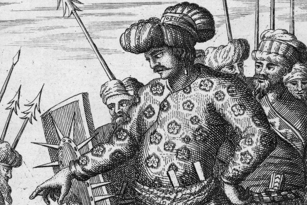 Shah Jahan, depicted circa 1625
