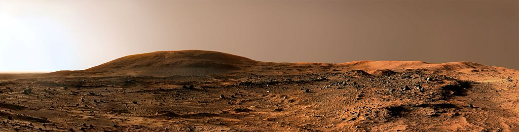 Late afternoon on Mars, 2006