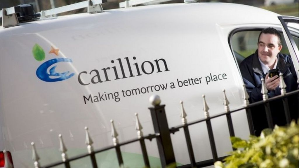 Carillion shares dive on sales warning