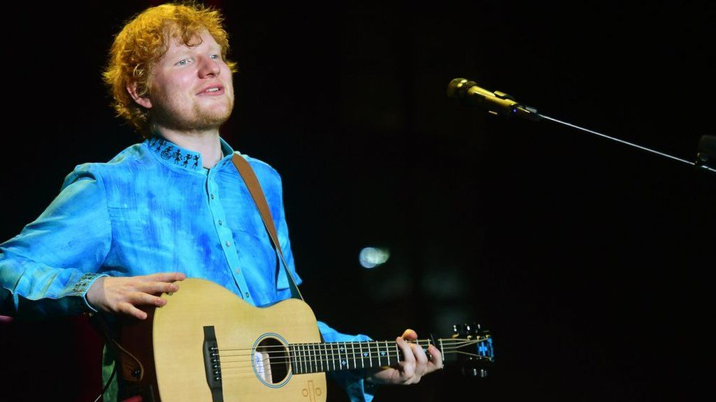 Ed Sheeran overlooked at Grammys