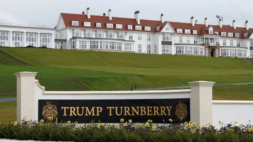 Trump Turnberry: US Congress launches investigation into Prestwick Airport  deals - BBC News