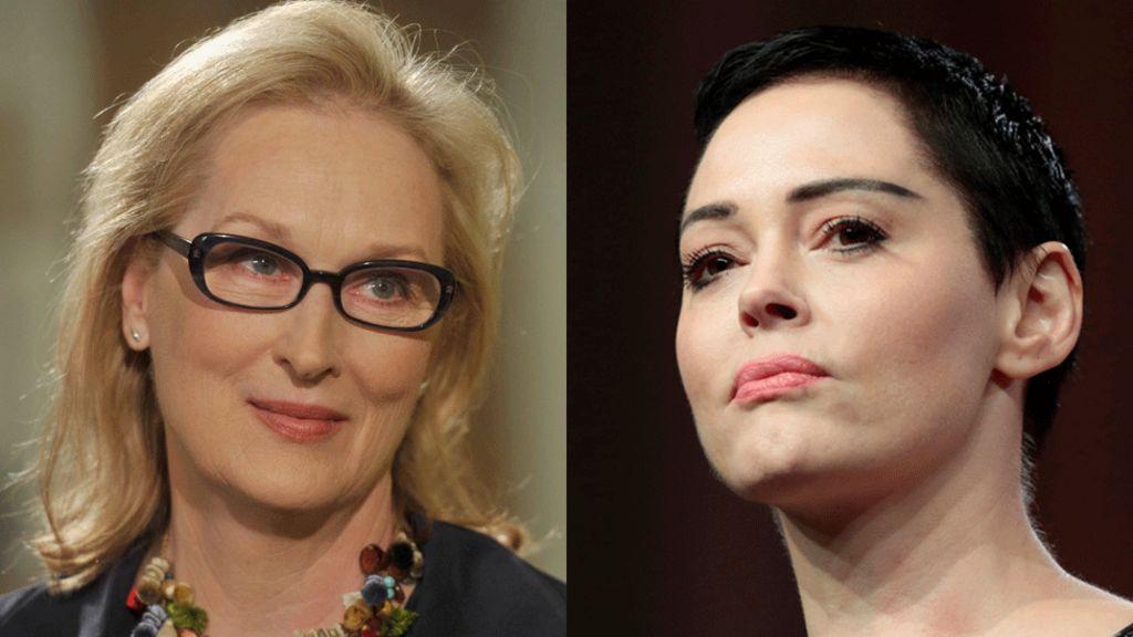 Meryl Streep defends herself against Rose McGowan criticism