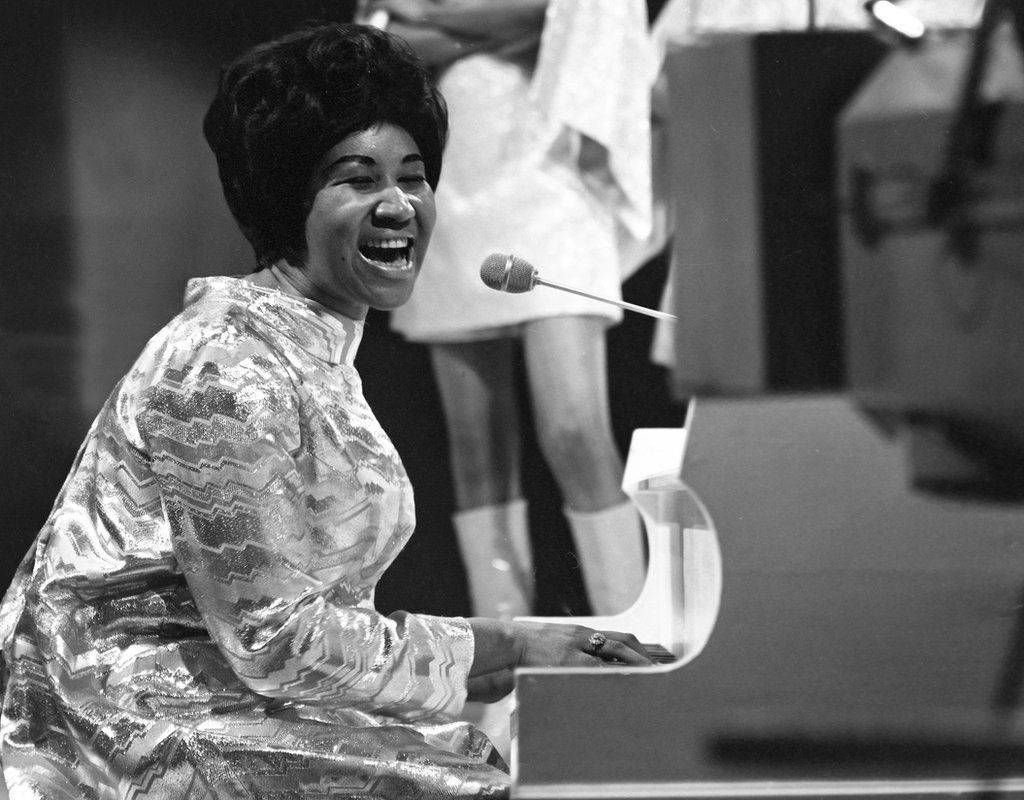 Aretha Franklin on Top of the Pops