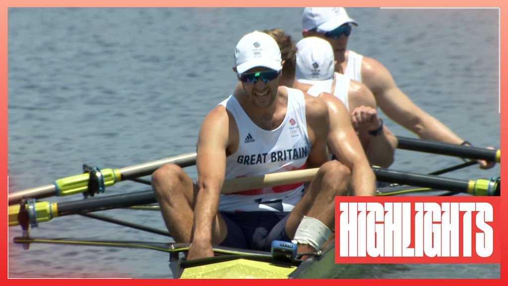 Tokyo Olympics: Team GB mens four win rowing heat to reach final