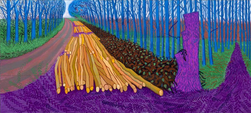 Winter Timber, 2009 by David Hockney